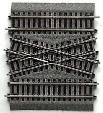 ROCO Line mit Bettung 42598 Kreuzung doppelte Gleisverbindung Hosenträger NEU OV