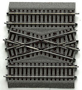 ROCO Line With Bedding 42598 Crossing Double Track Connection Braces New Ov