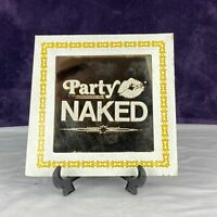 Vintage 1980's Carnival Fair Game Prize 6X6 Mirror - Party Naked