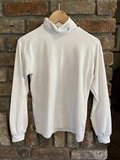 Yash Polo Neck Womens Golf Shirt Long Sleeve White GOOD CONDITION