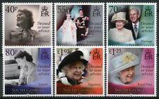 More details for south georgia & s sandwich isl royalty stamps 2021 mnh queen elizabeth ii 6v set
