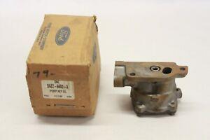 NOS 1979-90 Ford Mercury 2.3L 4 Cylinder Engine Oil Pump OEM FoMoCo D9ZZ-6600-A