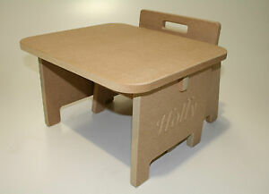 DIY Baby Toddler Table & Chair Personalisable with ANY Text! Present!
