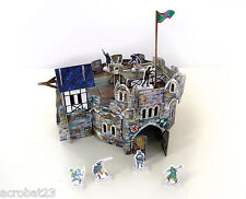 Building ROUND TOWER War Games Terrain Landscape Scenery Middle Ages 25-28 mm