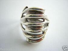925 Sterling Silber Ring Massiv 6,2 g 18 mm Schmuck Design Ring #34