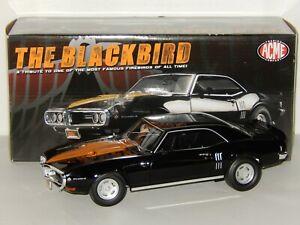 """1:18 Scale GMP/Acme 1968 """"The Blackbird"""" Pontiac Firebird 400, Item # A1805201"""