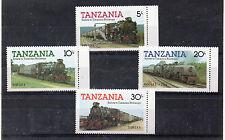 Tanzania Trenes Ferrocarriles Serie del año 1985 (CT-812)