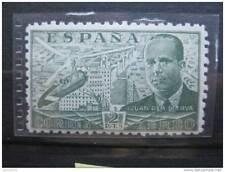 timbre Espagne : JUAN DE LA CIERVA poste aérienne