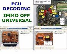 Universal Decoding 3.2 Best Software to IMMO OFF virginize ECU BSI IMMO KILLER