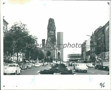 1972 Busy Street in Berlin Original News Service Photo