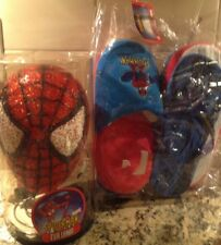 Spiderman Eva Lamp Brand New With Spiderman Youth Size 5 Slippers And Flip-Flop