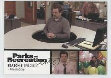 2013 Press Pass Parks and Recreation Seasons 1-4 #45 The Bubble Card 2a1