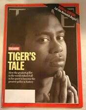 """TIME MAGAZINE 14 AUGUST 2000 TIGER WOODS """"TIGER'S TALE"""" - MASTER'S GOLF CHAMPION"""