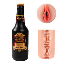 Male-Masturbators-Sex-Pussy-Soft-Vagina-Masturbation-Beer Bottle Cup-Men-Toys