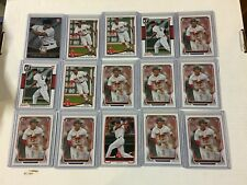 XANDER BOGAERTS ROOKIE 72 ROOKIE CARD LOT ALL ROOKIES!