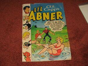 Li'l Abner #79 1950 ~Toby-Al Capp ~Daisy Mae swimsuit ~Kurtzman ~Good
