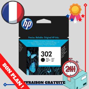 HP 302 Cartouche d'Encre Noire Authentique (F6U66AE) Imprimante FR couleur