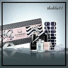 Manicure Gift Set Nail Varnish Glitter Nail Tool & Strips Ideal Gift