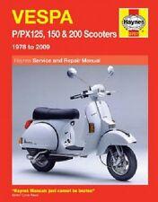 HAYNES SERVICE MANUAL VESPA PX150 E 1983-2006, PX200 E 1983-2003 83 84 85 86 87