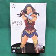 "Justice League Wonder Woman Gauntlet Clash Statue Limited 8"" Figure with COA"