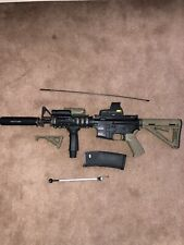 KWA Full Metal PTR LM4C Airsoft Gas Blowback Rifle
