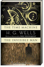 The Time Machine & The Invisible Man by H. G. Wells (2007,Mass Market Paperback)