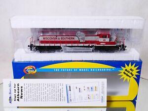 ATHEARN USA n° 95253 Motrice diesel SD40-2 WISCONSIN SOUTHERN HO neuf en boite