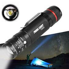 6000LM Zoomable Mini CREE T6 LED Flashlight Torch 5 Modes Super Bright Light FT