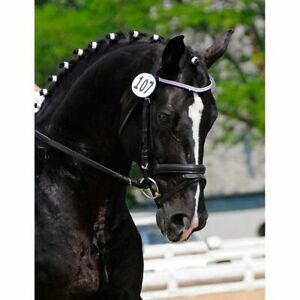 Show & Competition Bridle Number Disc Start Number Small or Large 3 or 4 Digit