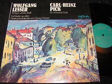 WOLFGANG LESSER Ein Tag in unserer Stadt & PICK Du.../ DDR LP 1976 NOVA 885099