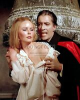 CHRISTOPHER LEE & VERONICA CARLSON - 8X10 PUBLICITY PHOTO (RT225)
