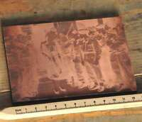 Galvano Druckstock Kupferklischee Druckplatte Druckerei imprimerie letterpress