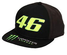 VR46 Valentino Rossi The Doctor #46 Monster Energy Base Cap Gorra de Visera