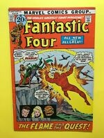 FANTASTIC FOUR #117 THE FLAME AND THE QUEST! Marvel DEC.1971 Good+