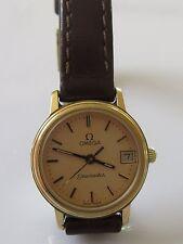 Omega Seamaster Genuine Leather Strap Wristwatches