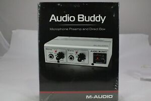 M-Audio Audio Buddy Microphone Preamp and Direct Box 50000 Hz - New in Box