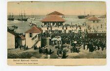 Beirut Railroad Station SYRIA Antique Train Depot—Sarrafian Armenian Pub~1910s
