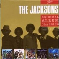 "THE JACKSONS ""ORIGINAL ALBUM CLASSICS"" 5 CD BOX NEU"