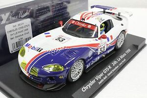 FLY A84 DODGE VIPER GTS-R NEW IN DISPLAY 1/32 SCALE SLOT CAR 22,000 RPM MOTOR