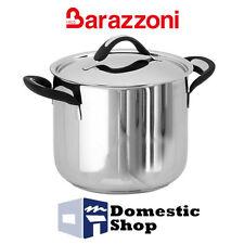 BARAZZONI PENTOLA 28 CM SILICON PRO ACCIAIO CON COPERCHIO ACCIAO INOIX