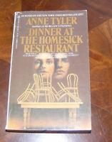 Dinner At The Homesick Restaurant Anne Tyler Berkley