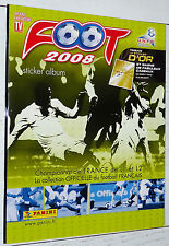 ALBUM VIERGE PANINI FOOT 2008 FOOTBALL EMPTY LEER NEUF FRANCE 2007-2008