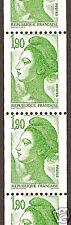 FRANCE, 1,90 F n° 2426b, 1,90 F vert type Libert ss ph.