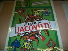 BENITO JACOVITTI:LE CARTE DI JACOVITTI.STAMPA ALTERNATIVA.2003 NUOVO POKER&PRIMA