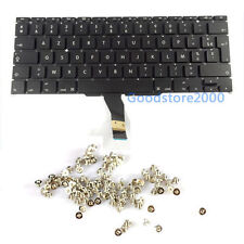 "100% New Macbook Air 11"" A1370 A1465 French Keyboard MC968 MC969 MD223 MD224"