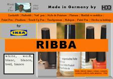 Lackstift für IKEA RIBBA weiß