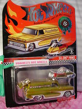 2016 Hot Wheels RLC Happy Holidays '64 GMC PANEL/SNOW MOBILE☃real riders☃LE 3429