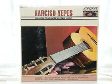 "Marciso YEPES-SPAGNOLA CHITARRA CLASSICA MUSICA 12"" LP 1964"