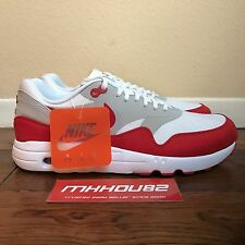 New Nike Air Max Day 1 Ultra 2.0 LE 3.26 AM1 Red 908091-100 Shoes Size 10.5