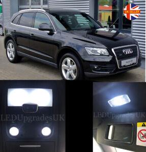 AUDI Q5 SQ5 Full White LED Interior Light Kit Upgrade
